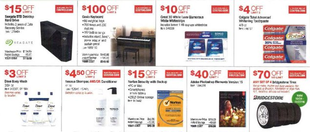 November 2016 Costco Coupon Book Page 4