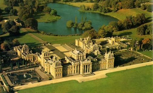 blenheim palace woodstock cotswolds