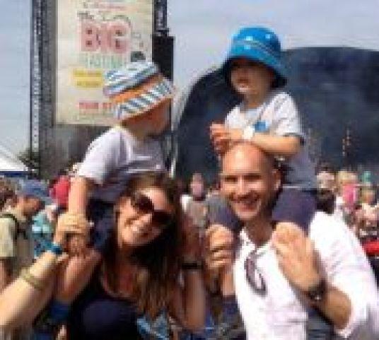 the big feastival festival kids music kingham cotswolds