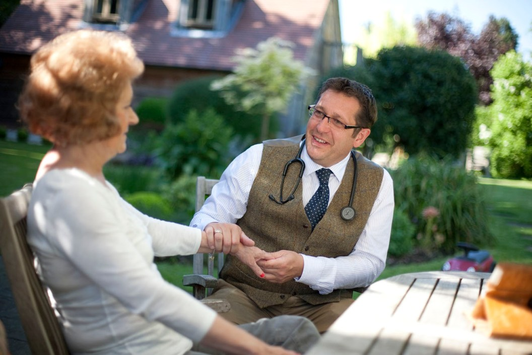 concierge medical simon gillson karl braine private gp doctor chipping campden cotswolds