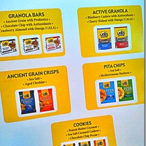 Udis Glutenfree Dinner and a Sneak Peek of new Products