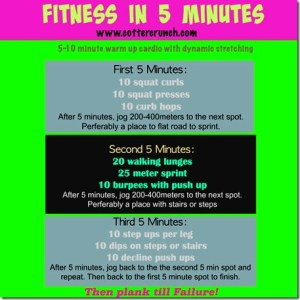 Fitness in 5 Minutes