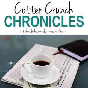 The Cotter Chronicles- Our Weekly Food News – First Edition