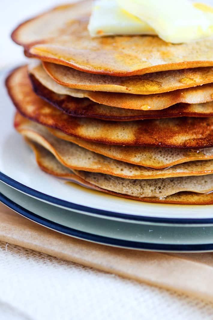 Easy Oven Baked Gluten Free Swedish Pancakes