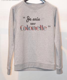 je suis une cotonette sweatshirt pull du club des cotonettes wax goodies cadeau