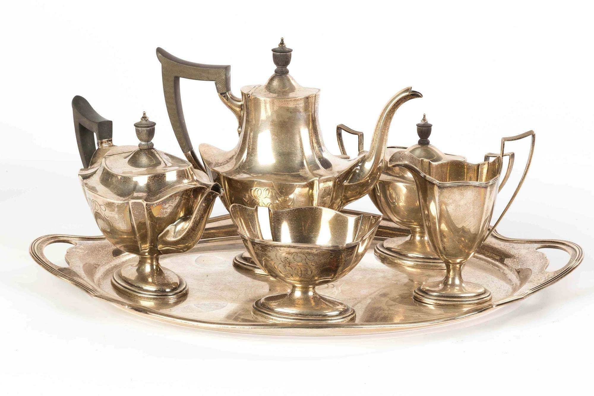 Fullsize Of Silver Tea Set