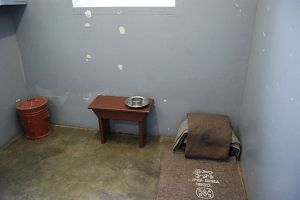 Nelson Mandela's prison cell on Robben Island (Paul Mannix)