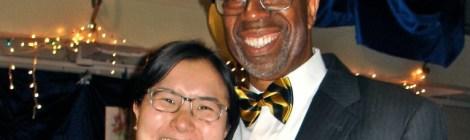 Bishop Alfred Johnson and Jessica Kawamura