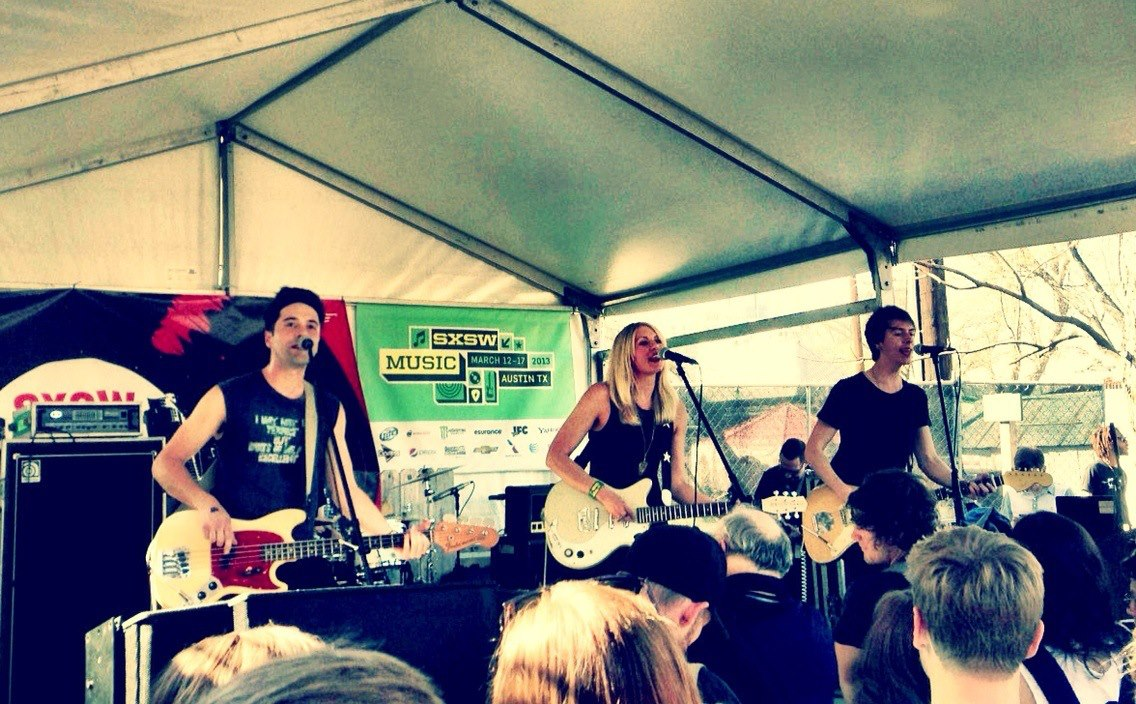 Blondfire at SXSW