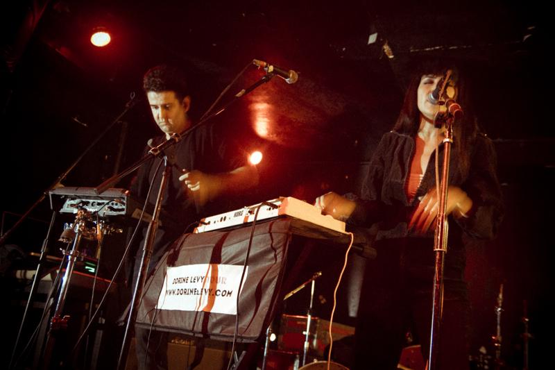 Dorine Levy live CMJ