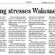 Overcrowding Waianae