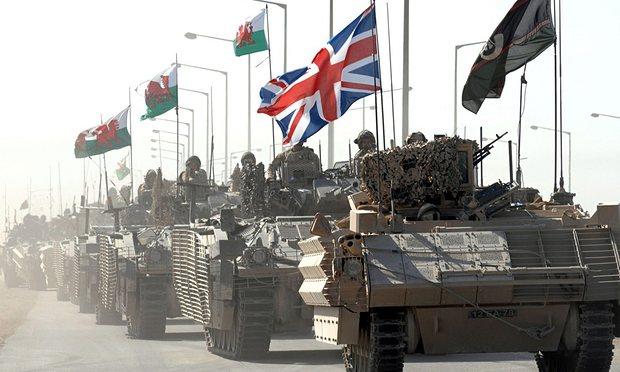 British-tanks
