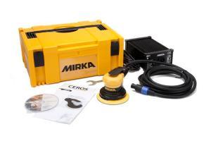 Mirka Abrasives CEROS random orbital countertop sander