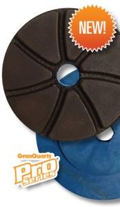 GranQuartz edge finishing wheels