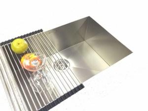 TopZero seamless edge stainless steel sink