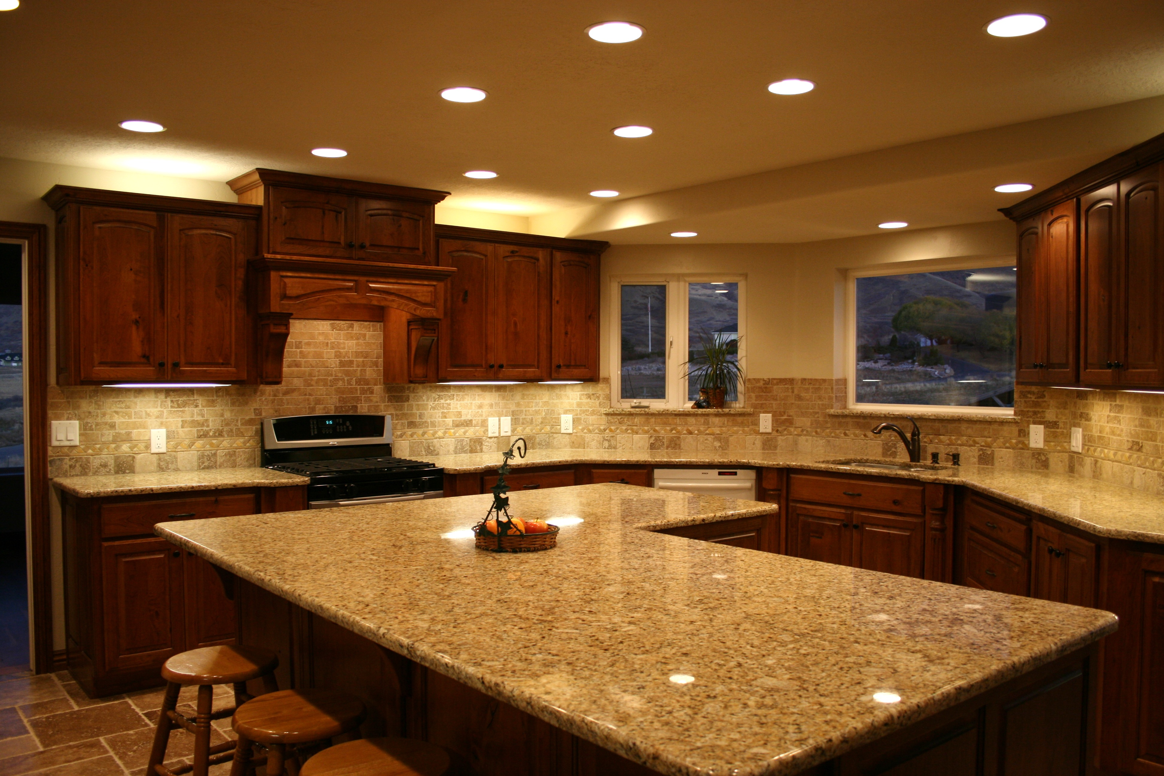 Kitchen Countertops by New Vision marble kitchen countertops