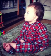 CF Family: proper little boys' flannel pyjamas