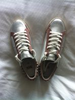 CF Buys: Ash studded metallic leather sneakers – from The Outnet