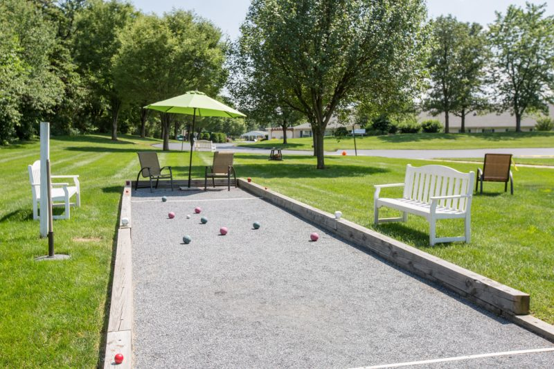 Large Of Bocce Ball Court