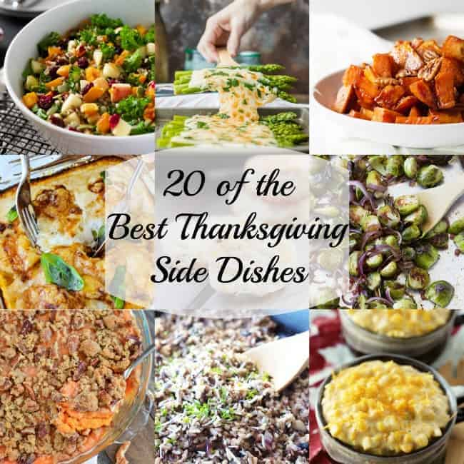 20 of the best savory thanksgiving side dishes On top 20 thanksgiving foods