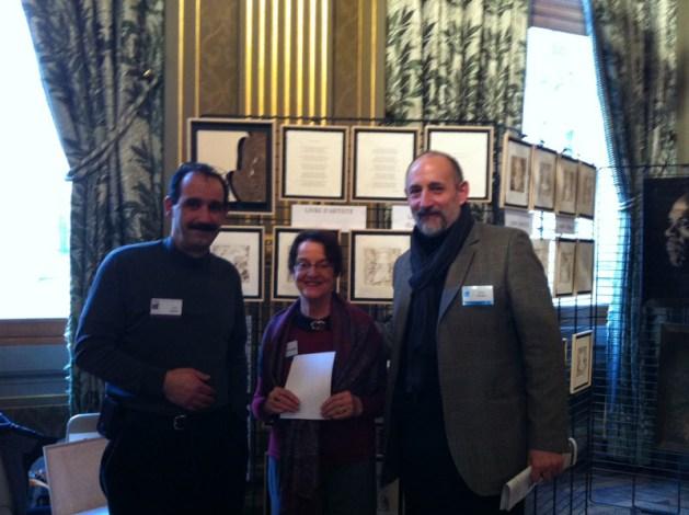 Anne Chatel Demenge, Hakim Beddar, michel Wilson Au Maghreb des films 2013