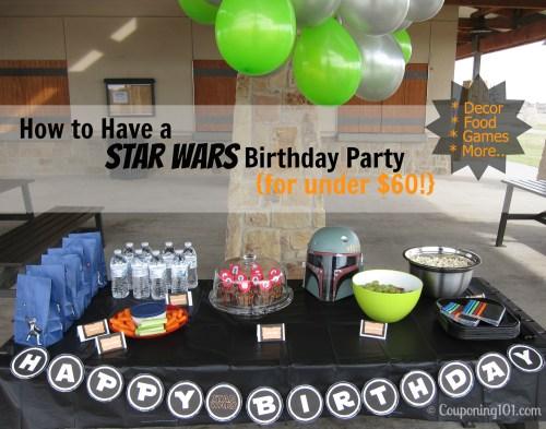 Medium Of Star Wars Party Ideas