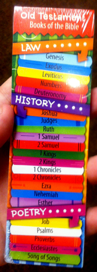 Old Testament Bookmarkers