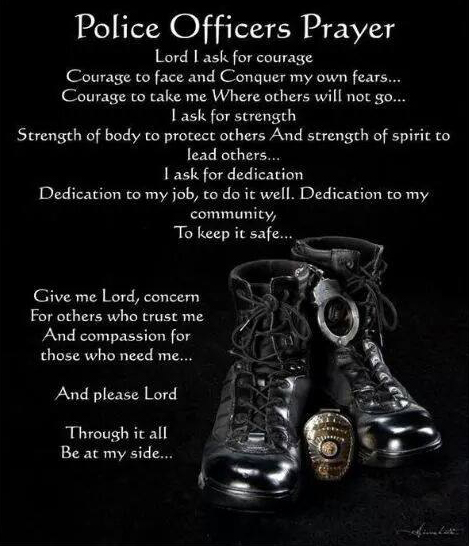 Police Officers Prayer