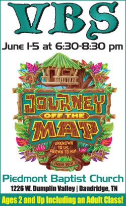 Journey off the Map flyer