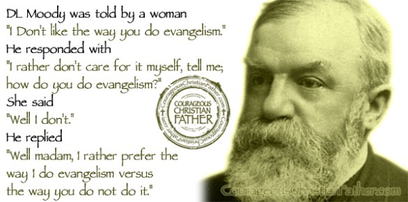 DL Moody Evangelism Quote
