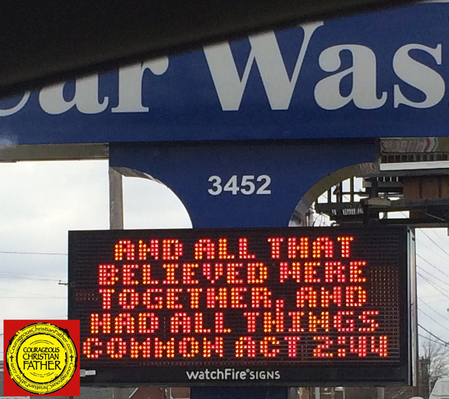 All Things Common Car Wash Sign