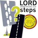 The LORD determines our steps