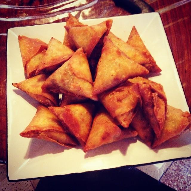 Recette de cuisine samosas aux pommes de terre cours de - Cuisine moleculaire lille ...
