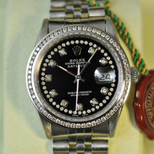 Rolex Datejust 36mm mit Diamanten