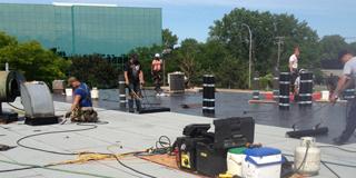 Réparation/rénovation de toit plat