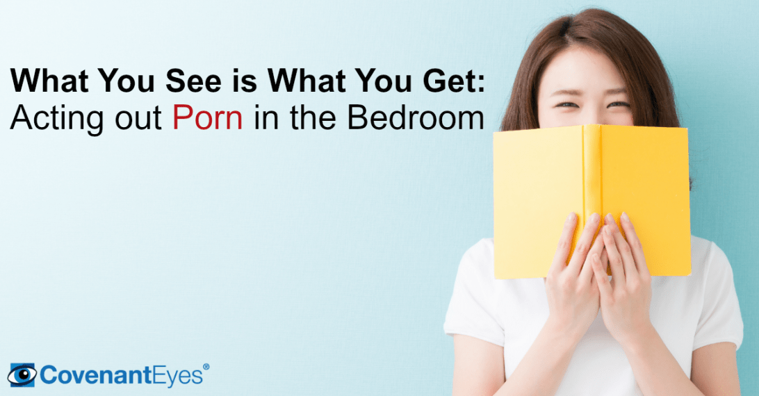 Acting out porn in the bedroom