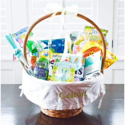 Medium Crop Of Pre Made Easter Baskets