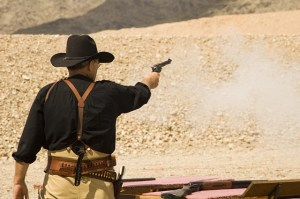 cowboy action shooting pistol 1