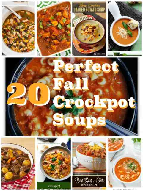 20 Perfect Fall Crockpot Soups