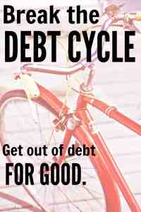 Break the Debt Cycle and Get Out of Debt for GOOD!