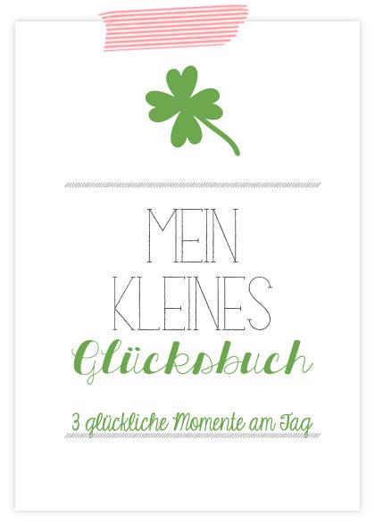 Mein kleines Glücksbuch: Titelseite