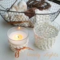 Anleitung: Umhäkelte Teelichtgläser für kuschlige Spätsommerabende