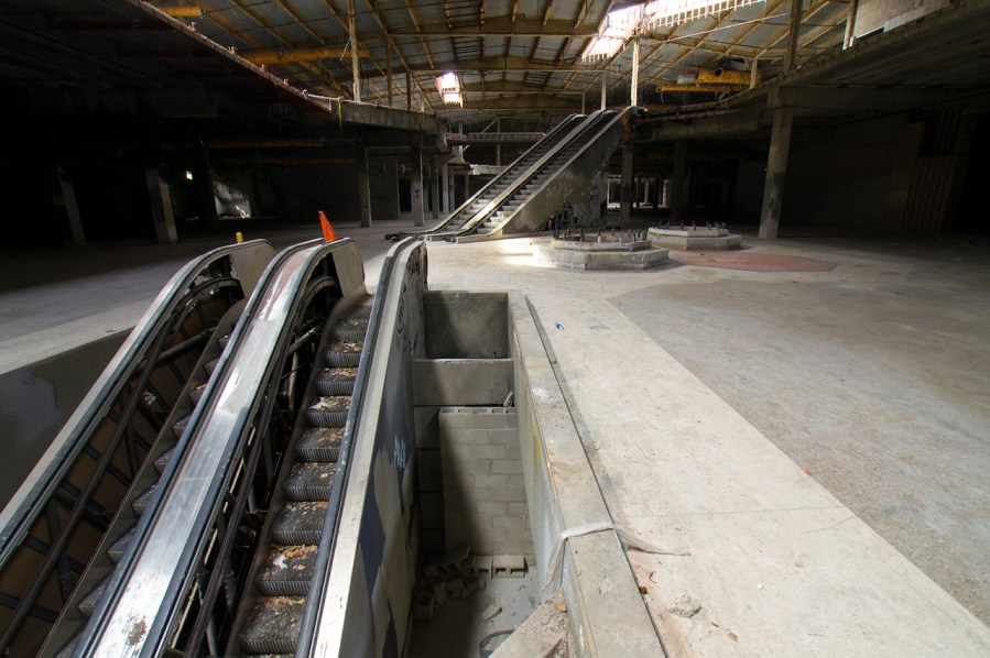 Decrepit Escalators