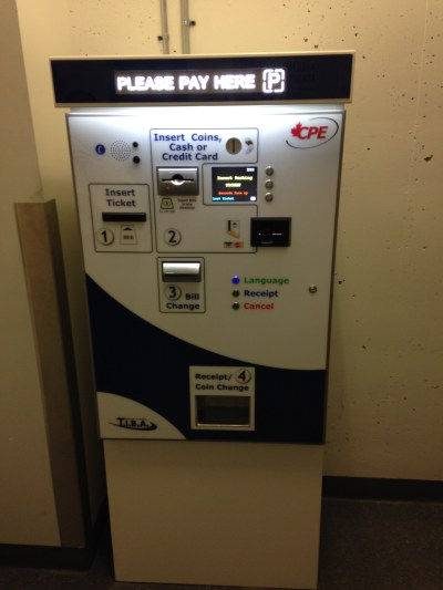 APS-30 Automated Parking Payment Station - CPE-APE