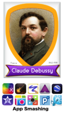 AppSmashing Debussy Project