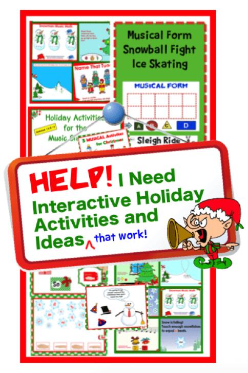 interactive holiday activities ideas