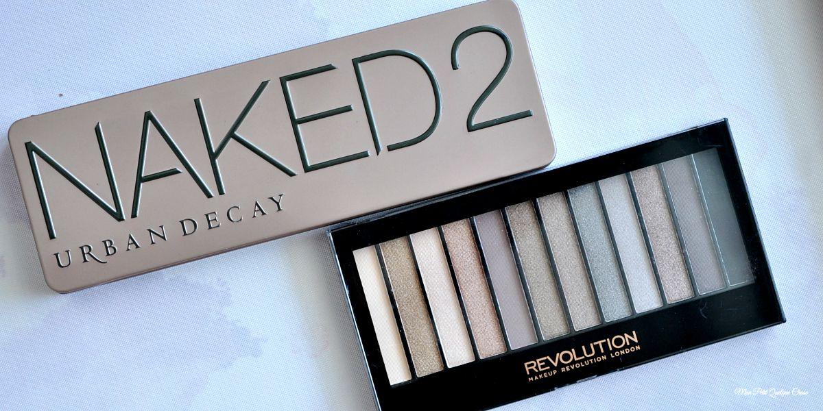 Iconic 2 de Makeup Revolution, un dupe parfait de la Naked 2?