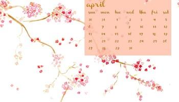 Desktop Calendar April 2016 january 2016 watercolor desktop calendar