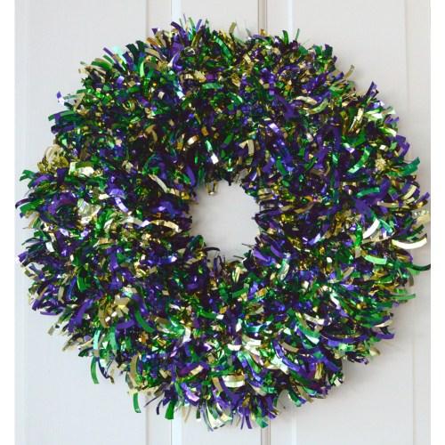 Medium Crop Of Mardi Gras Wreath