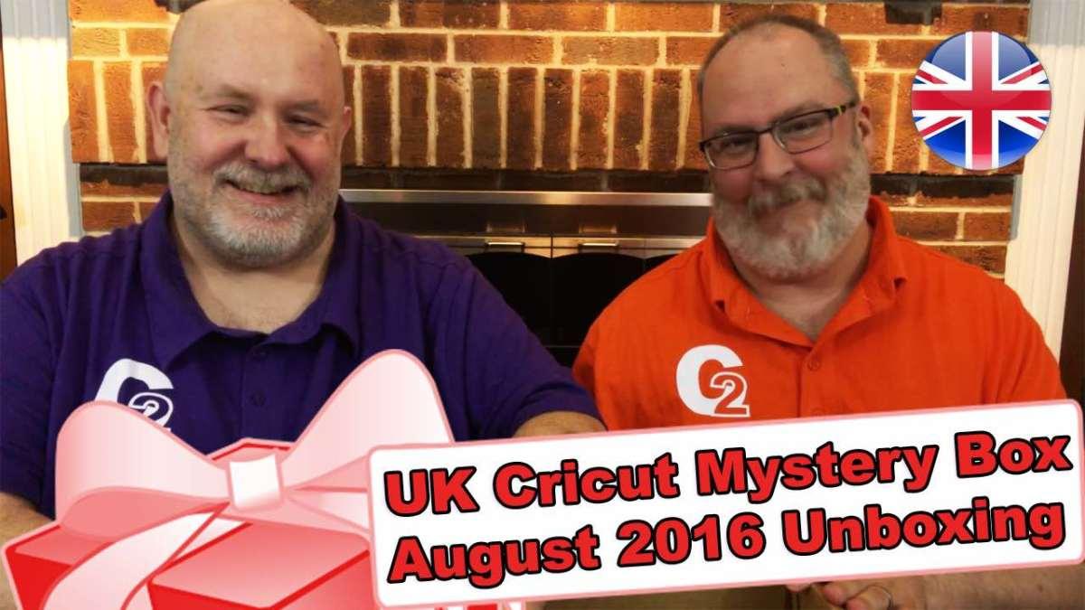 United Kingdom's Cricut Mystery Box - August 2016 Unboxing